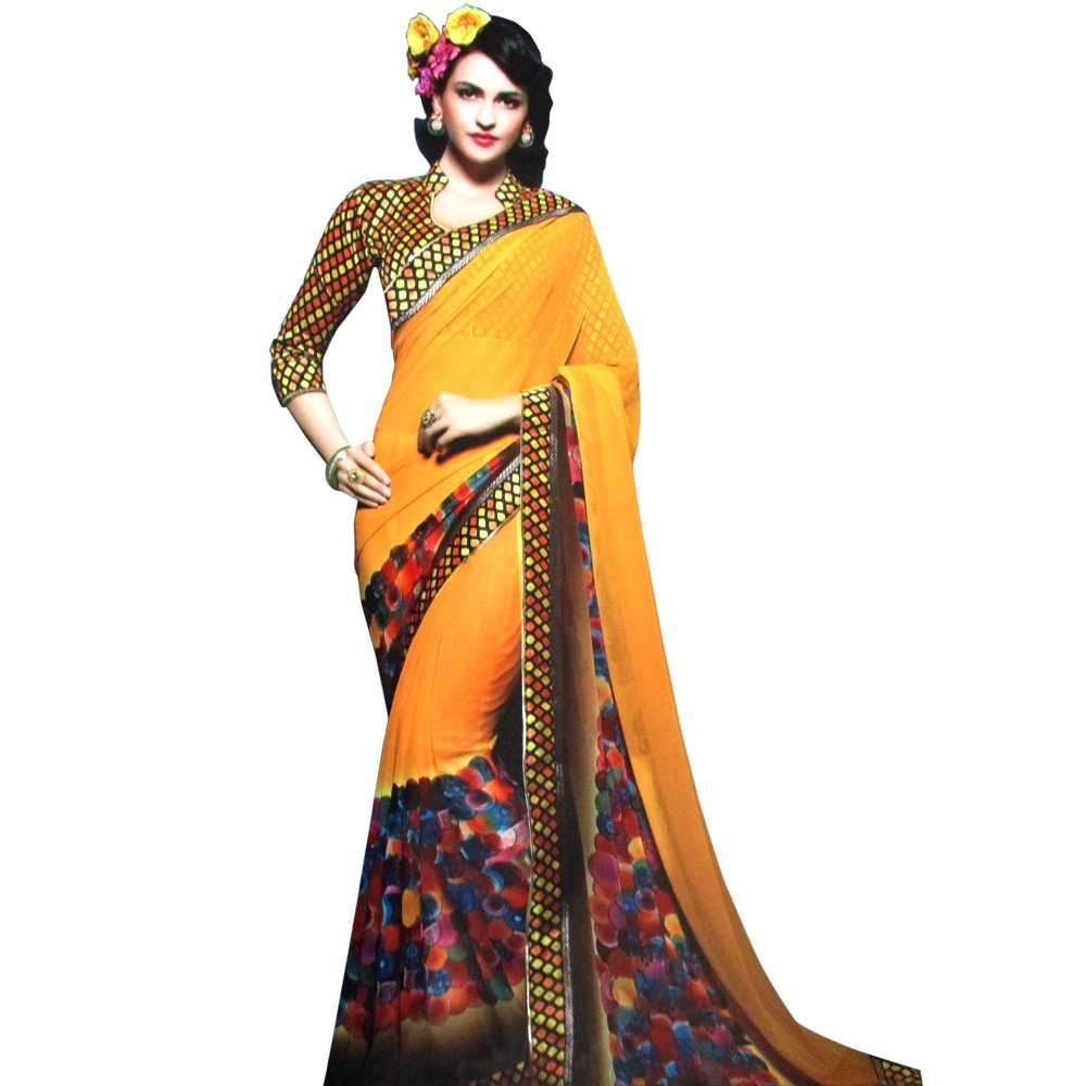Picture of Kesari Nandan Saree D.No.5909