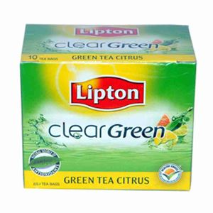 Picture of Lipton Clear Green Tea Citrus (20 Bags)