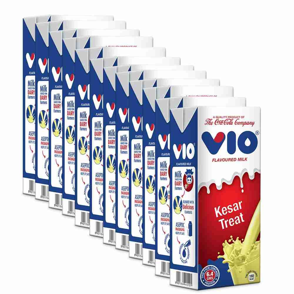 Picture of Coca-Cola Vio Milk Kesar Treat (Pack of 15)