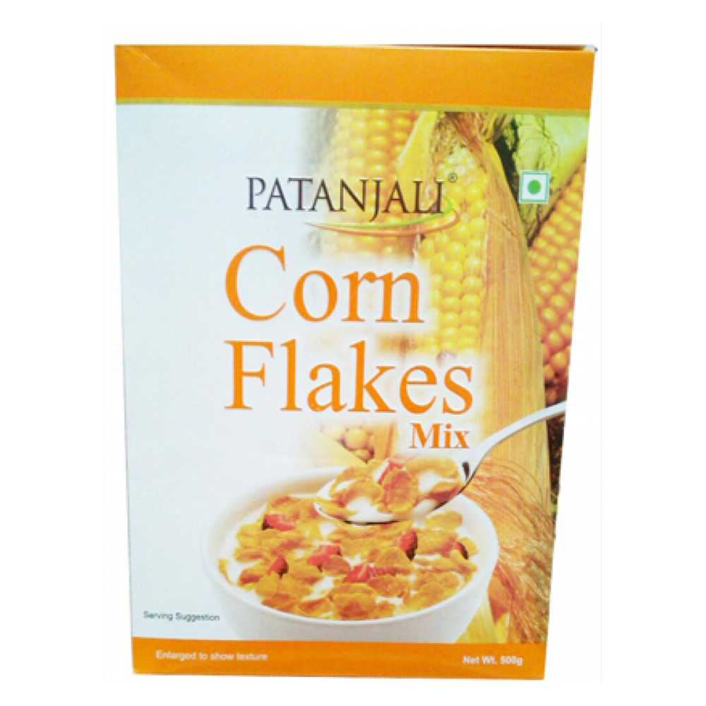 Picture of Patanjali Corn Flakes Mix 500g