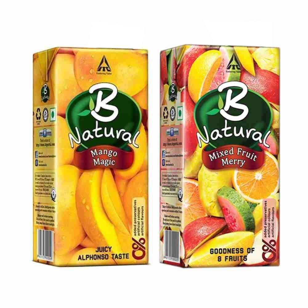 Picture of  B Natural Juice (Mango, Mix Fruit)