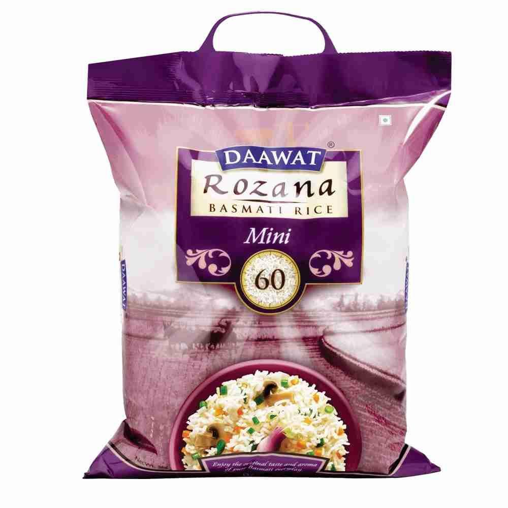 Picture of Daawat Rozana Basmati Rice Mini 60 10kg