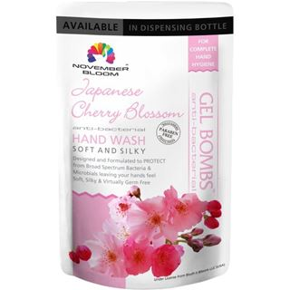 Picture of November Bloom Japanese Cherry Blossom Hand Wash Refill Pouch 170 ml