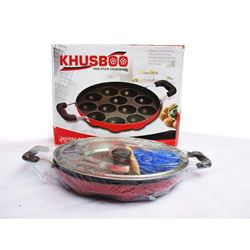 Khushboo Appam Patra 12 Cavities With Lid