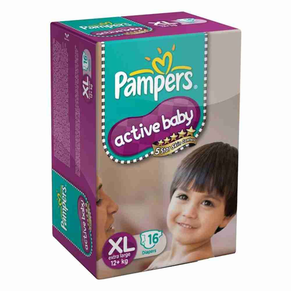 Picture of Pamper Active Baby 5 Xl