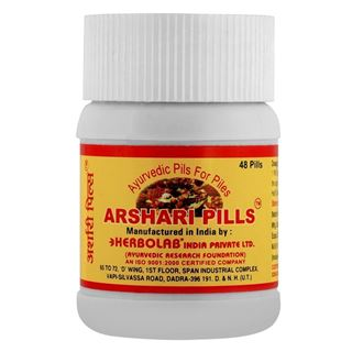 Picture of Dr. Vaidya's Arshari Pills Relief from Piles and Fissure 48 pills