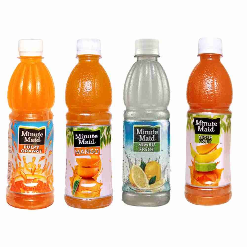 Picture of  Minute Maid Juice 250ml (Pulpy Orange , Mango, Lemon, Mix Fruit)