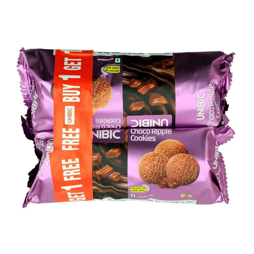 Picture of Unibic Choco Ripple Cookies 100gm (Buy 1 Get 1 Free)