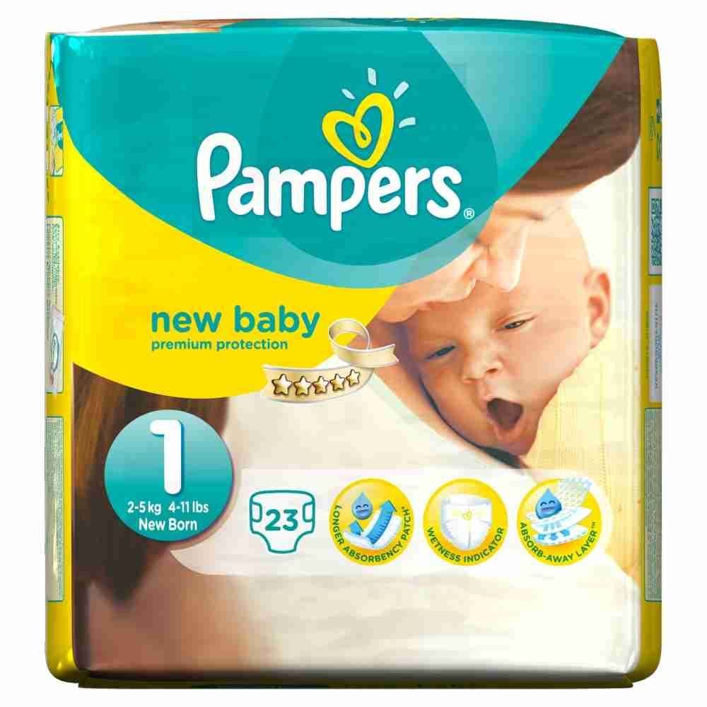 Picture of Pamper New Born -Small 11