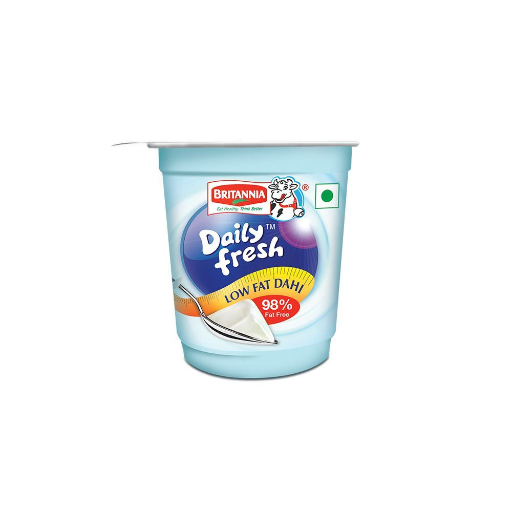 Picture of Britannia Daily Fresh Low Fat Dahi 400gm