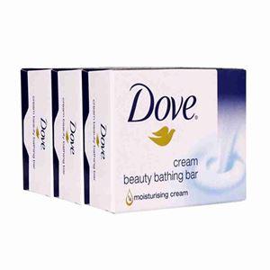 Picture of Dove Soap Cream Bar 3pcs x 100 gm