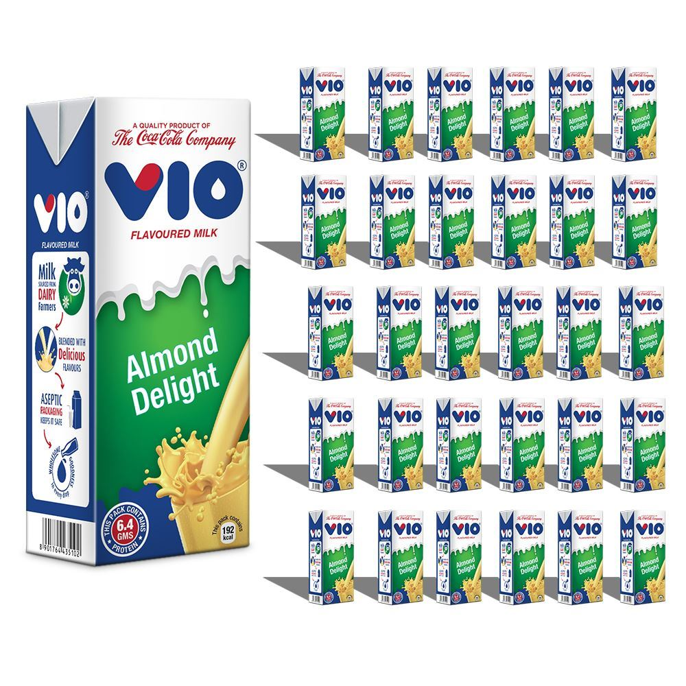 Picture of Coca -Cola Vio Milk Almond Delight (Pack of 30)