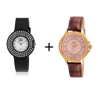 Picture of Combo Offer: Gio Collection Analog Women's Watch GLC-4001F + Gio Collection Analog Men's Watch P9349
