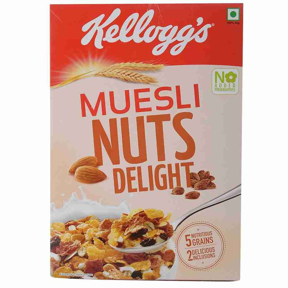 Picture of Kellogg Muesli Nut Delight 500gm Box