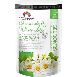 Picture of November Bloom Chamomile and White Lily Hand Wash Refill Pouch 170 ml