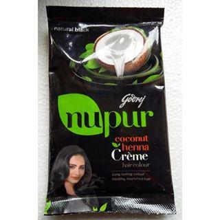Picture of Godrej Nupur Hair Colour Cream Black (1 PC)