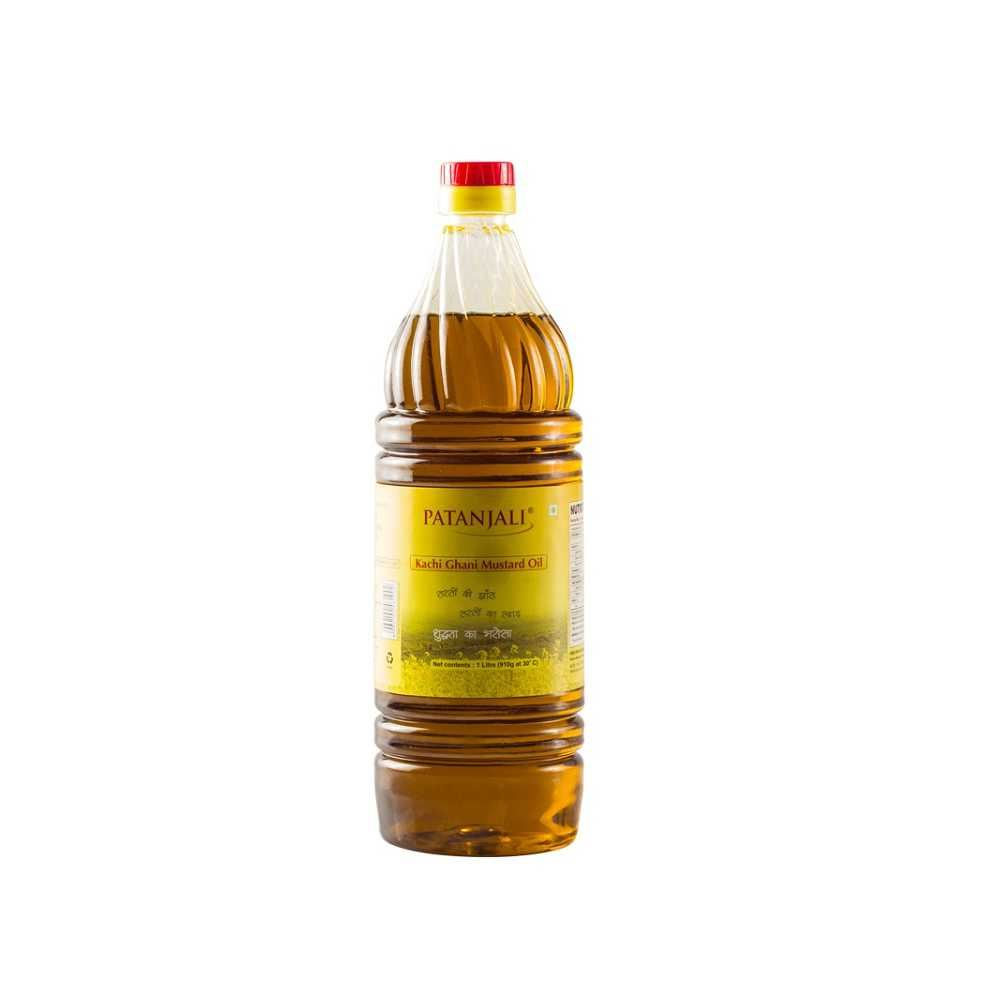 Picture of Patanjali Mustard Oil 1ltr