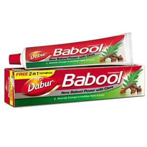 Picture of Dabur Babool  Toothpaste Paste 180gm
