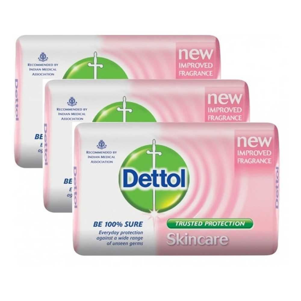 Picture of Dettol Skincare Soap (3*125gm)