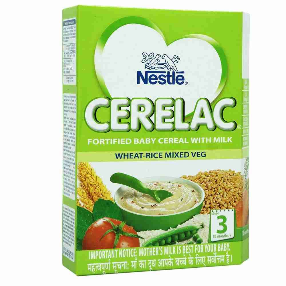 Picture of Nestle Cerelac Wheat Rice Mix Veg Stage3