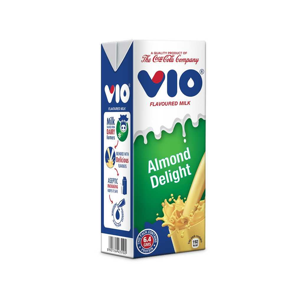 Picture of Coca -Cola Vio Milk Almond Delight