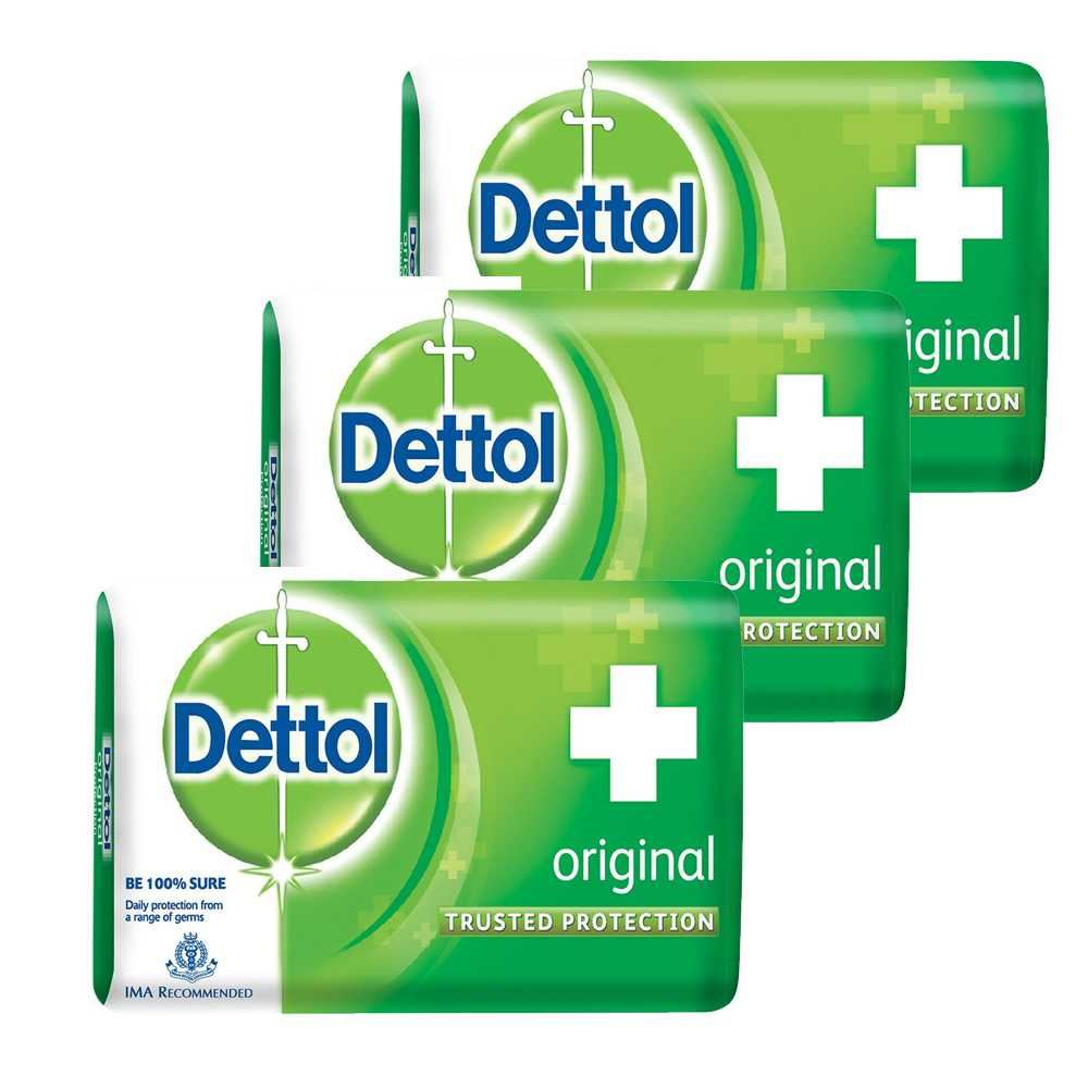 Picture of Dettol Soap Original  (3*125gm)