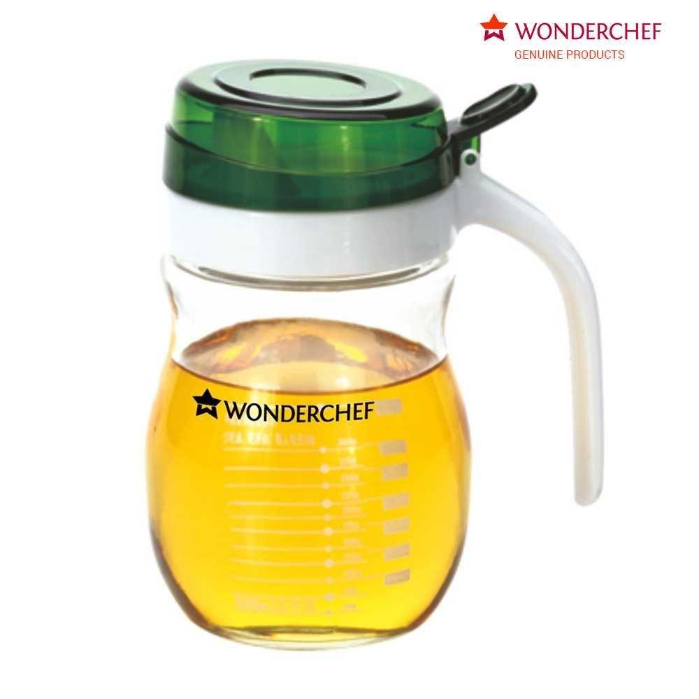 Picture of Wonderchef Glass Oil Pourer Transparent 550ml