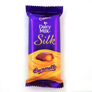 Picture of Cadbury Dairy Milk Silk Caramello 60gm