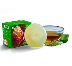 Picture of Anuspa Honey  & Aloevera Soap  125gm