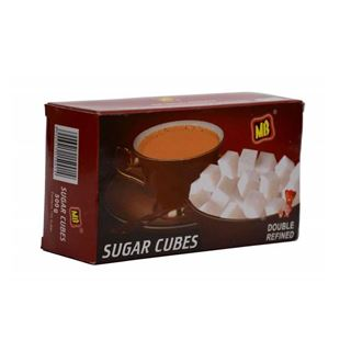 Picture of MB Sugars White Sugar Cubes 500 gm