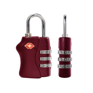 Picture of Texas USA TSA Lock Maroon