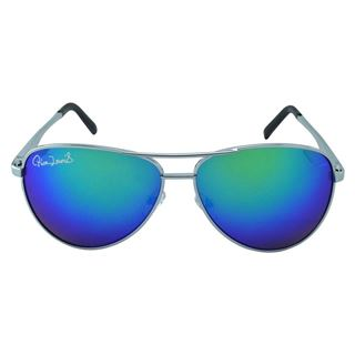 Picture of Polo House USA Men's Sunglasses Silver Blue Mercury(RicaLew1071silbluemer)