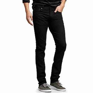 AmodaDeals-Buiy Code-16 Narrow Bottom Jeans In Black Colour at ...