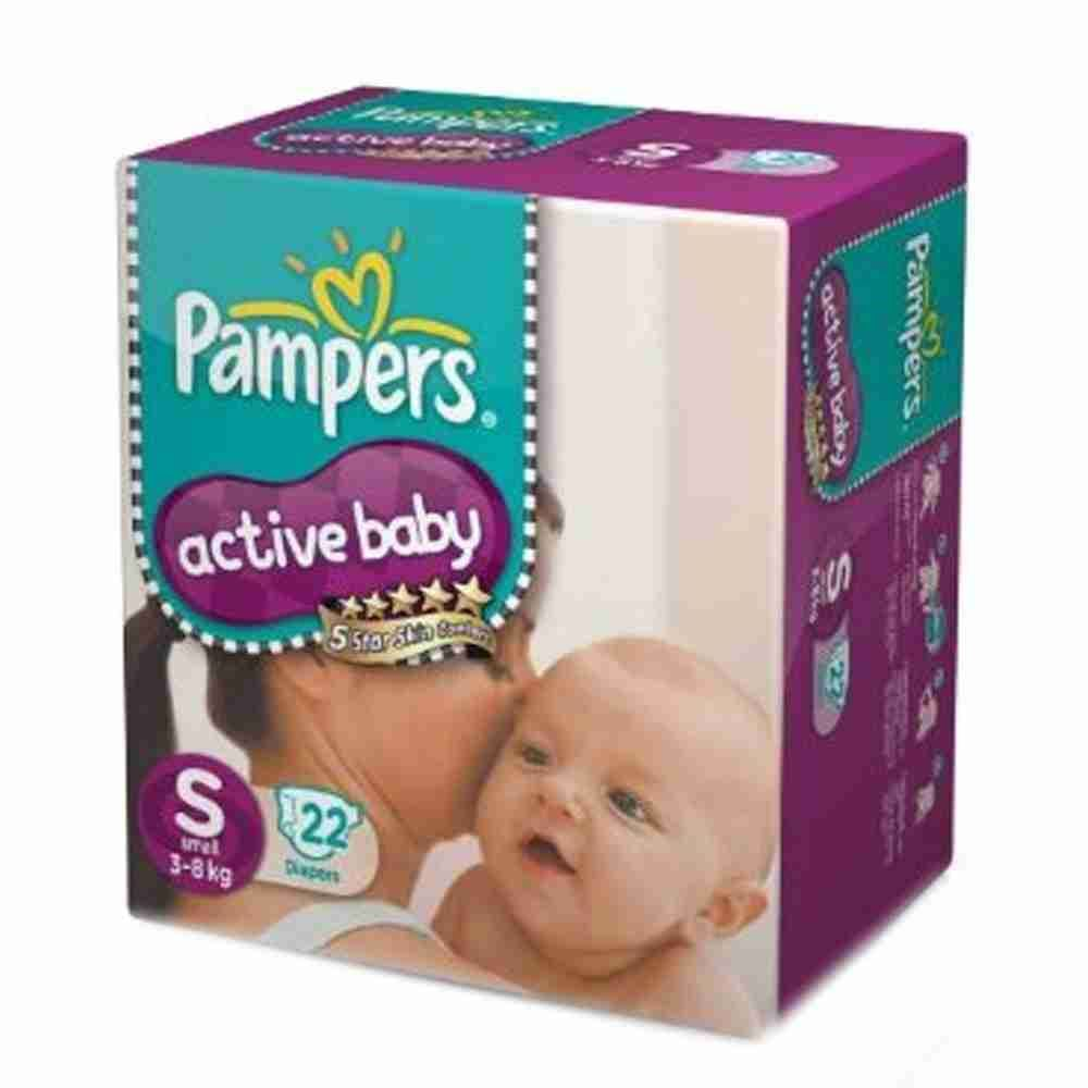 Picture of Pamper Active Baby Small -22