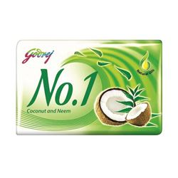 Godrej No.1 Coconut and Neem Soap 100gm