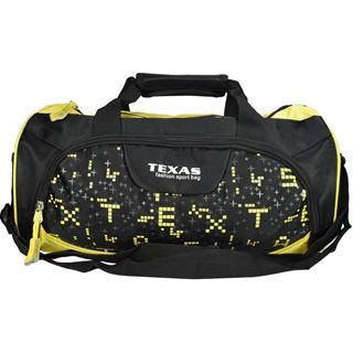 Picture of Texas USA Exclusive Imported Yellow Gym Bag