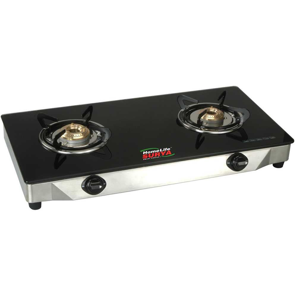 Picture of Homelife LPG Glass 2B Black Cooktop