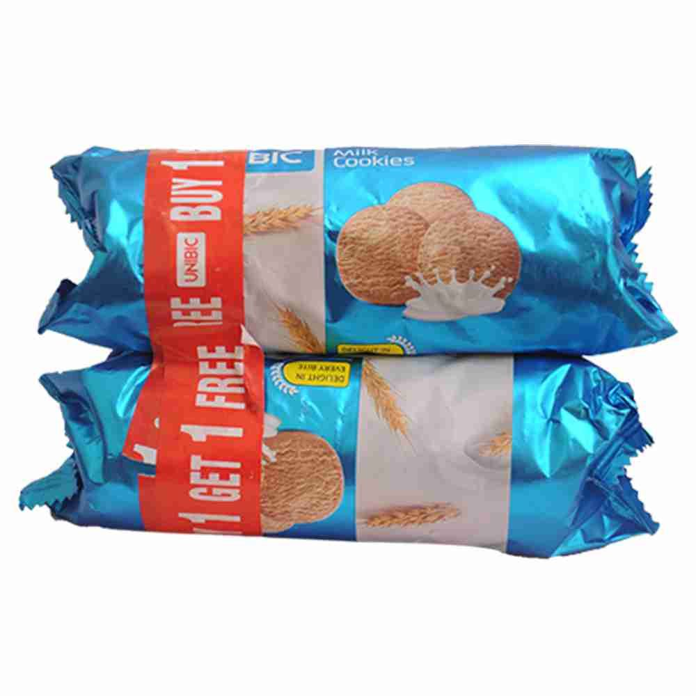 Picture of Unibic Milk Cookies 100gm(Buy 1 Get 1 Free)